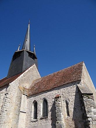 Auvilliers-en-Gâtinais - The church in Auvilliers-en-Gâtinais