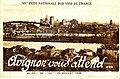 Avignon fête nationale des vins de france 1938.JPG