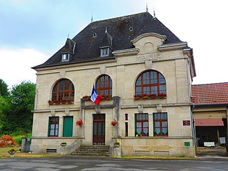 Avocourt - The town hall in Avocourt