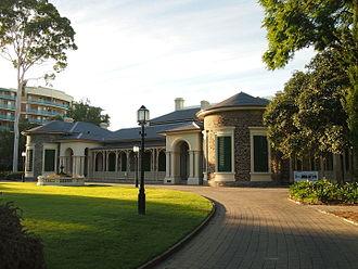 Ayers House (Adelaide) - Image: Ayers House, Adelaide 2015