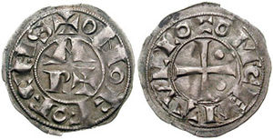 "Viscounts of Béarn - Coin of Béarn (under ""Count Centule"")"