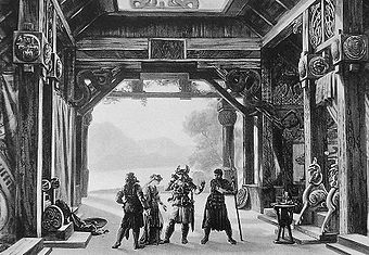 Der Ring des Nibelungen, Bühnenbild für Götterdämmerung