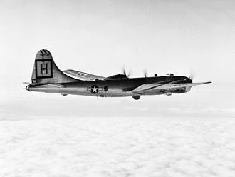 Nevada Test and Training Range (military unit) - 98th Bomb Wing B-29 over Korea