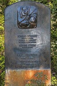 B-Friedrichsfelde Zentralfriedhof 03-2015 img22 Kaethe Kollwitz.jpg