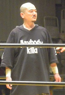Hido Japanese retired professional wrestler (born 1969)