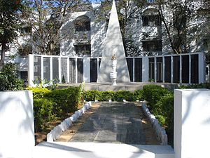 Bangalore Military School - The school memorial
