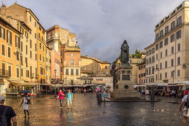 |Campo de' Fiori|  - recommended area to stay in Rome