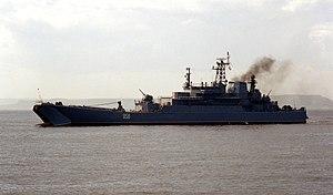 Ropucha-class landing ship