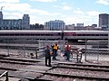 BET Lowell Line platform.JPG