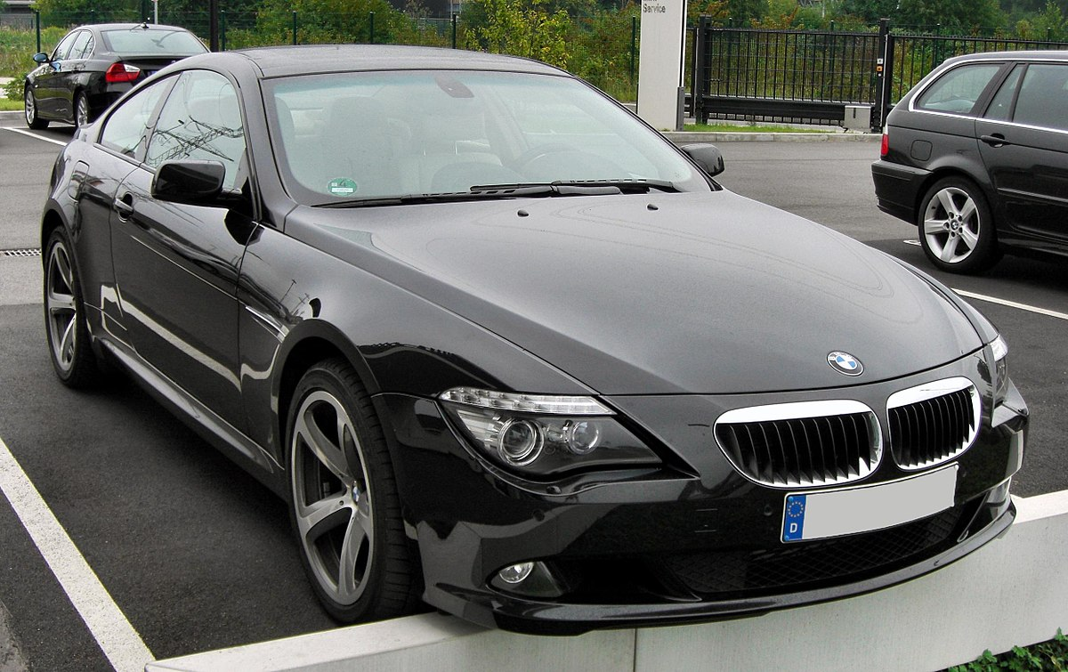 bmw 6 series (e63) - wikipedia