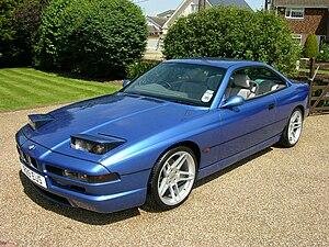 BMW 8 Series (E31) - Image: BMW 840 Ci Sport front