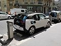BMW i3 charging on Autolib' station in Paris.jpg