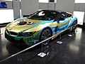 BMW i8 Art Car by Milan Kunc at the BMW Museum - front left view.jpg