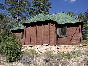 National Register of Historic Places listings in Garfield County, Utah - Image: BRCA standard cabin