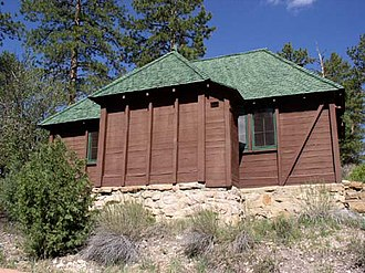 National Register of Historic Places listings in Bryce Canyon National Park - Image: BRCA standard cabin