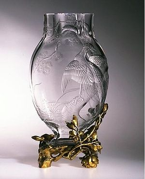 Baccarat (company) - Baccarat vase 1890-1900, Victoria and Albert Museum