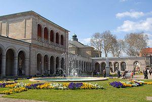 "Bad Kissingen - Spa Park Bad Kissingen with ""Arkadenbau"""