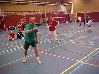 Badminton men's doubles