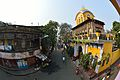Badridas Temple Street with Chandraprabhu Temple Gateway - Kolkata 2014-02-23 9501.JPG