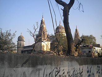 Rawalpindi - An abandoned Hindu Temple at Bagh Sardaran.