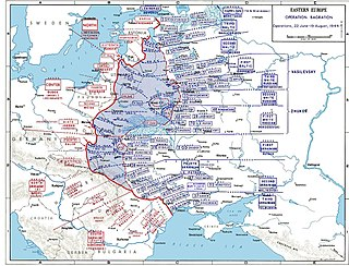 Operation Bagration Large Soviet military offensive in WW2