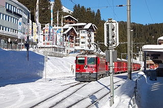 Arosa (Rhaetian Railway station) railway station