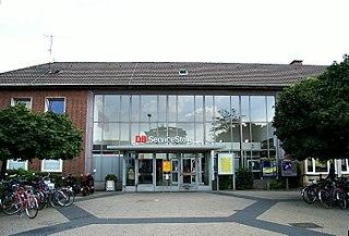 Dinslaken Place in North Rhine-Westphalia, Germany