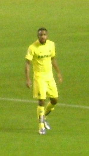 Cédric Bakambu - Bakambu in action for Villarreal in December 2015.