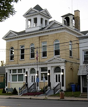 National Register of Historic Places listings in Onondaga County, New York - Image: Baldwinsville Village Hall