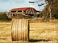 Bale and Barn, Grenaby Farm - geograph.org.uk - 59880.jpg