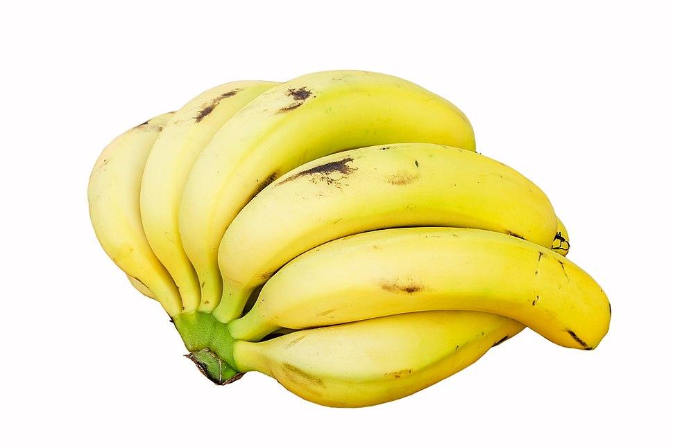 Bananas white background DS