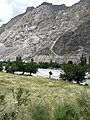 Bank of Ghizer river near Gupis.jpg