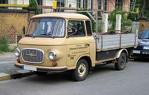 Barkas (van manufacturer) - Image: Barkas B1000 Pritsche
