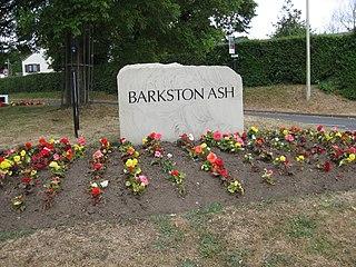 Barkston Ash Village and civil parish near Selby, North Yorkshire, England