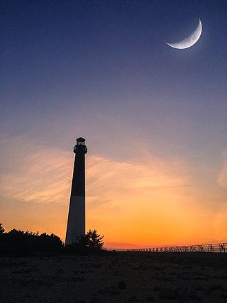 Barnegat Lighthouse - Image: Barnegat.lighthouse. sunset