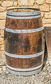 Barrel on the street in Beynac-et-Cazenac.jpg