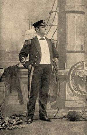 Rutland Barrington - Playing Corcoran in H.M.S. Pinafore, revival