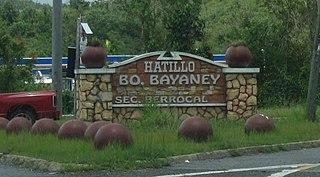 Bayaney, Hatillo, Puerto Rico Barrio of Puerto Rico