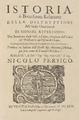 Bartolomé de las Casas (1643) Istoria, ò, Breuissima Relatione della distruttione dell'Indie Occidentali.png