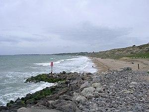 Barton on Sea - Sea defences at Barton on Sea