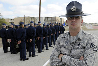 Lackland Air Force Base - Image: Basic Military Training Instructor
