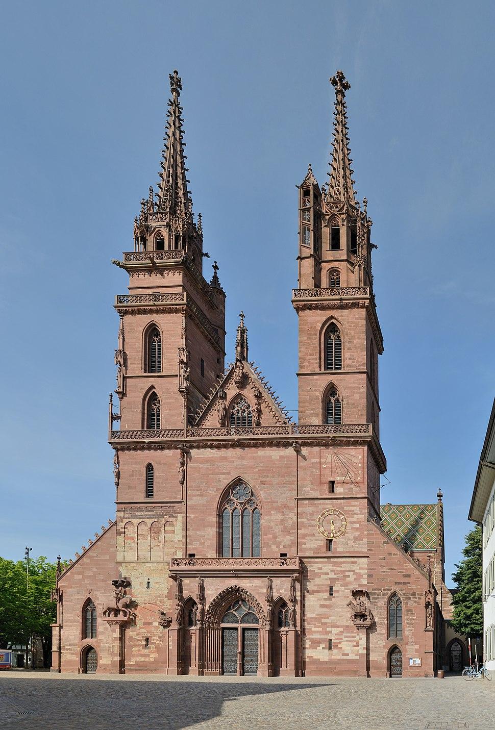 Basler - Basler Münster Westfassade