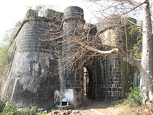 The Bassein Fort is a fort near Vasai, just no...