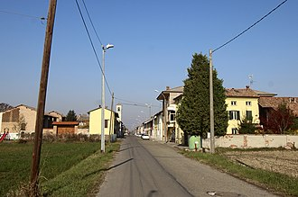 Bastida de' Dossi - Image: Bastida De Dossi Borgo 1