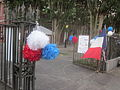 Bastille Day NOLA 2013 Old Mint Entrance Gate.JPG