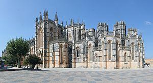 Batalha, Portugal - Frontside of Batalha Monastery