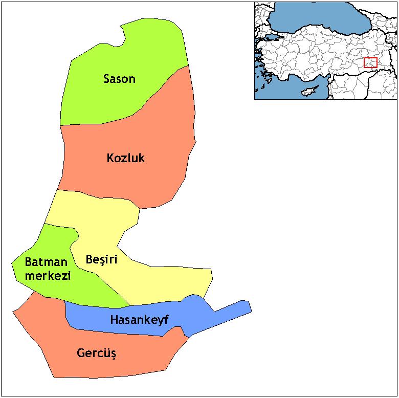 Batman districts