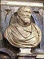 Battista lorenzi, busto di michelangelo, 1564-74 ca., 01.jpg