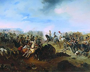 Bogdan Willewalde - Image: Battle of Grochów 1831 by Willewalde