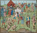Battle of Nicopol aftermath Thr masacreofthecristians revenge for rahova massacre.jpg